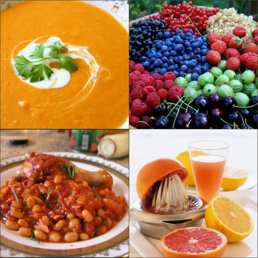 Зеленая диета при раке