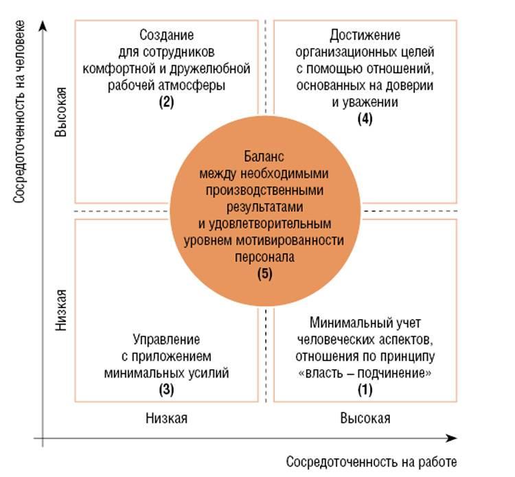 Стили управления и руководства