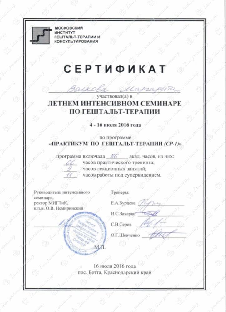 Московский институт гештальта и психодрамы (мигип) - гештальт-терапия