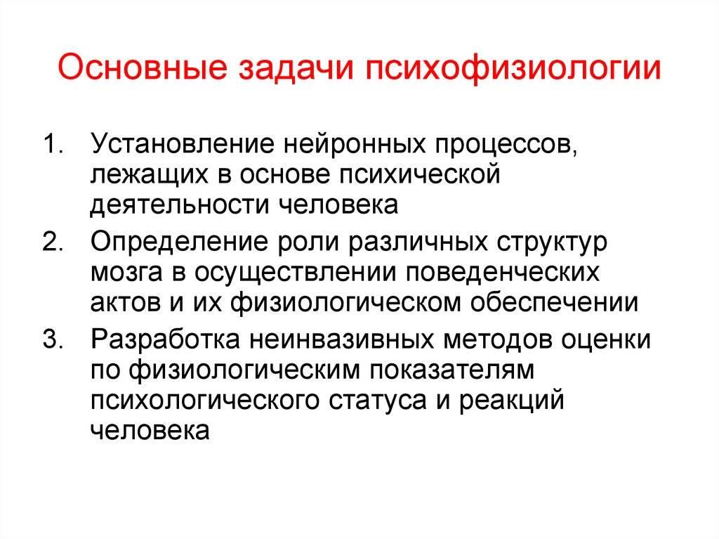Психофизиология (миг)