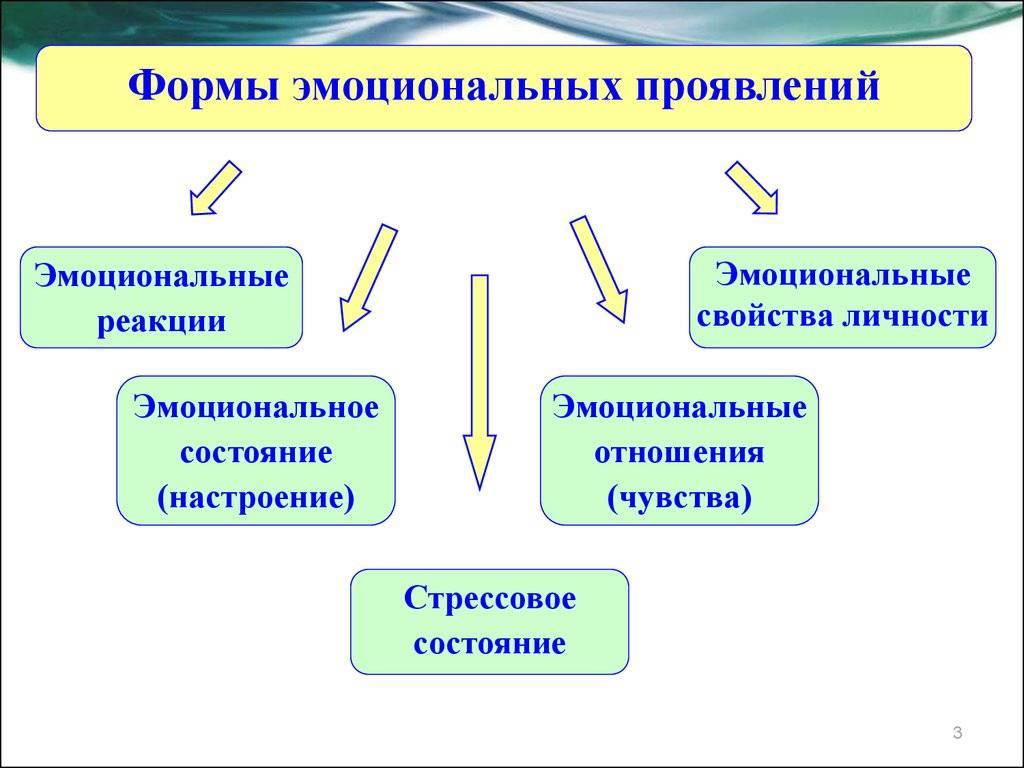 Эмоциональное состояние человека - виды, характеристики, особенности