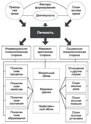 Понятие личности в психологии: сущность и структура