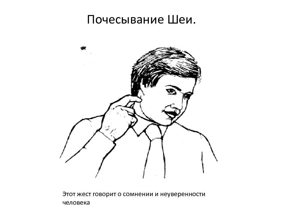 О чем могут рассказать жесты? 75 признаков языка тела