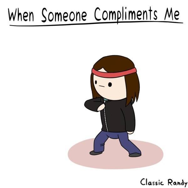 Как реагировать на комплименты