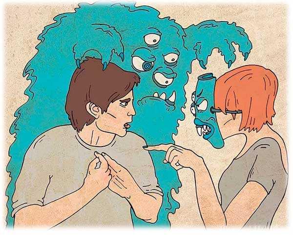 Проекция. как видеть свое бревно в чужом глазу