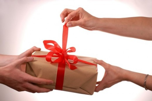 Подарки от друзей и родственников