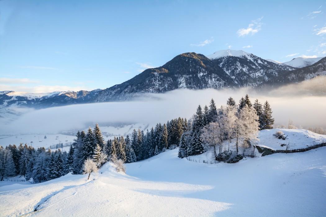 Настоящая альпийская сказка в городе Кицбюэль, Австрия