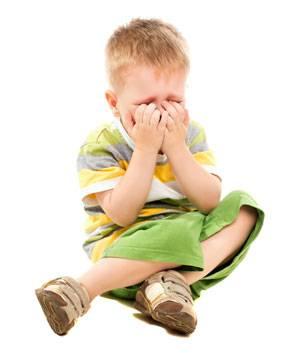 Детские истерики: норма или патология
