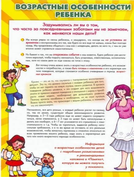 Методическая разработка по психологии по теме:  памятки для родителей  | социальная сеть работников образования
