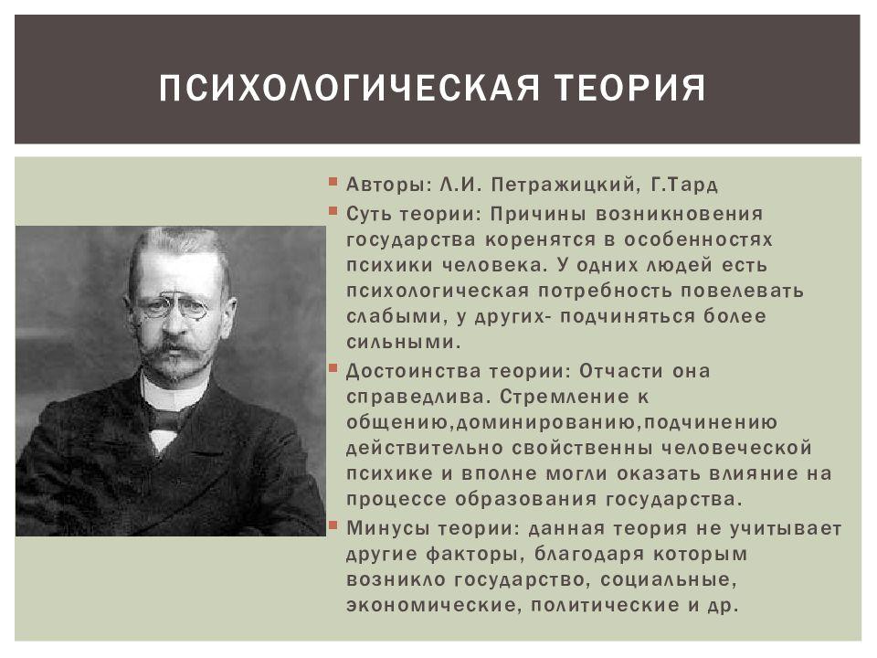 Психологическая теория картинка