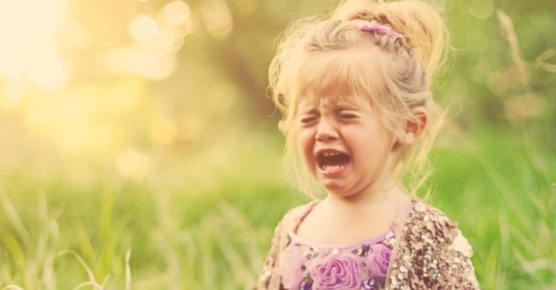 Опасность детской истерии