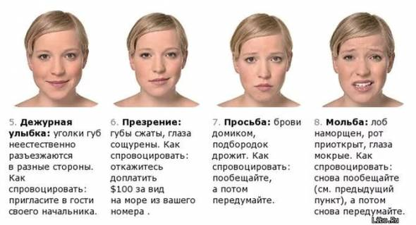 7 черт личности, которые можно определить по лицу