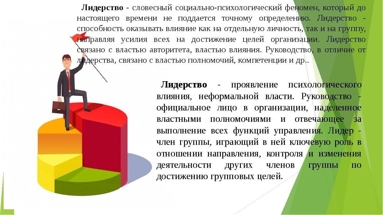 Психология управления. личность игруппа: проблема лидерства ируководства