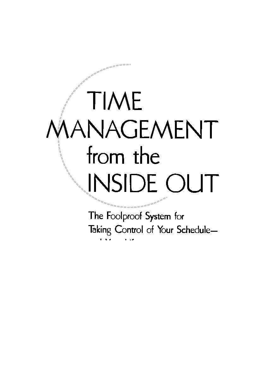 Урок 1. основы тайм-менеджмента