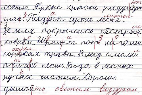 Дисграфия у младших школьников - учитель-логопед