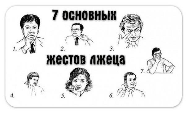 Мимика лица в картинках