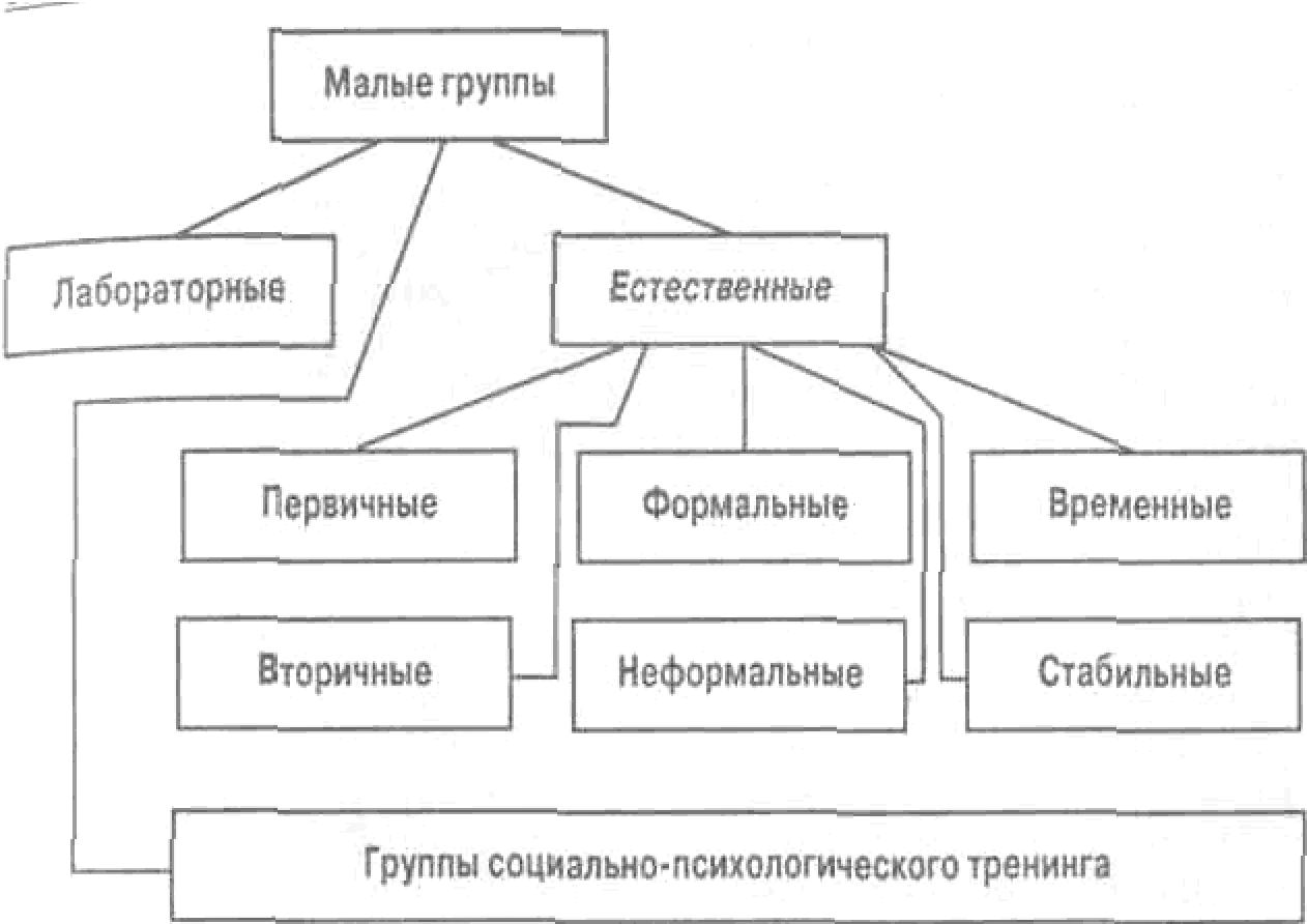 Стадии формирования и виды психологии групп