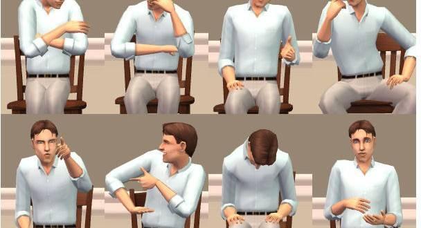 Тест: как вы сидите? ваша поза может многое о вас сказать!