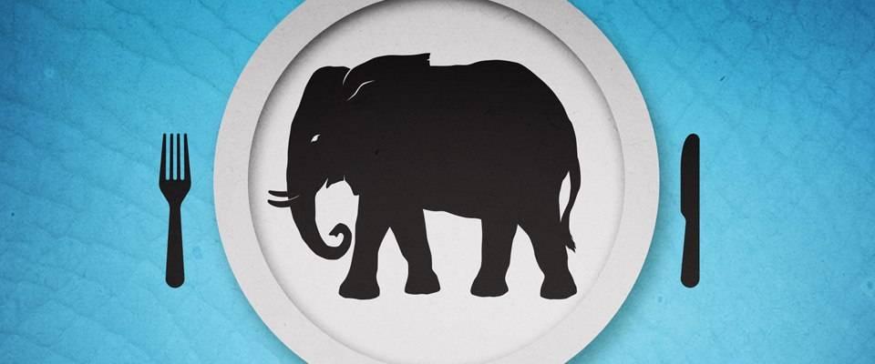 Как съесть слона. снова про целеустремлённость.