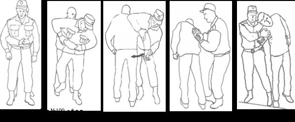 Тактика задержания