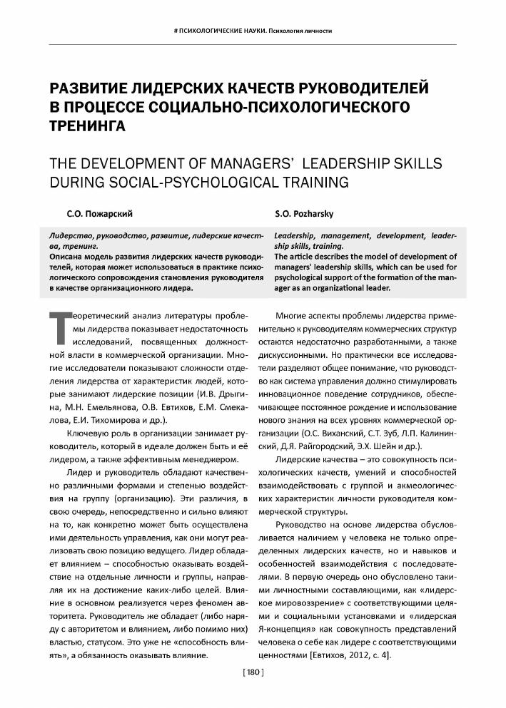 Психология лидерства и особенности поведения и мышления лидера