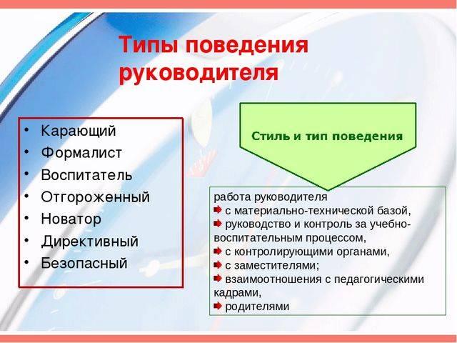 Психология руководителя. характеристики руководителя