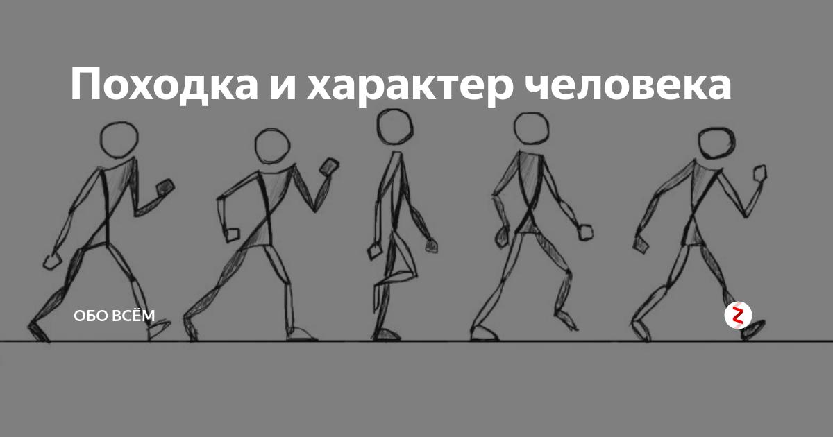Узнайте человека по походке.походка как проявление индивидуальности
