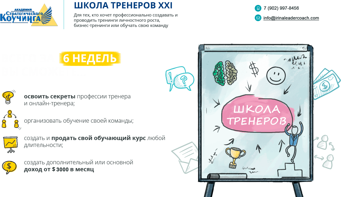 Тренинг тренеров в новосибирске