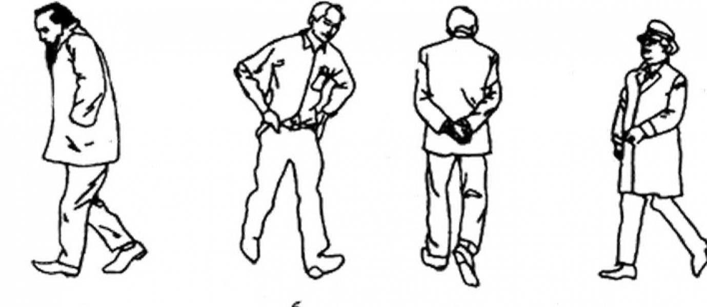 Позы. походка. осанка — невербальный этикет