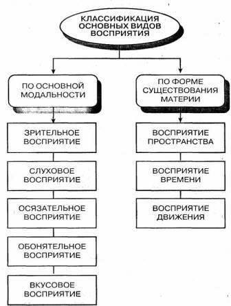 Психология восприятия
