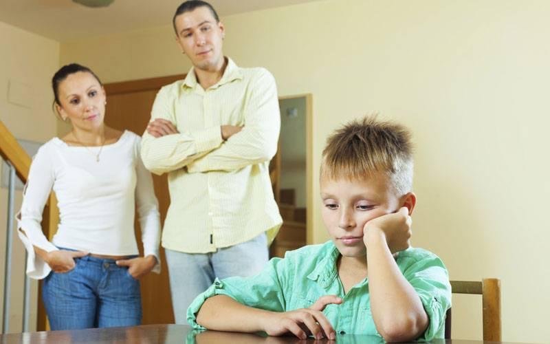 Психология: наказание ребенка - бесплатные статьи по психологии в доме солнца