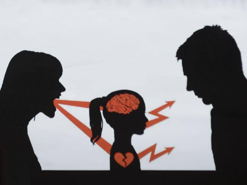 Развод и ребёнок - психолог